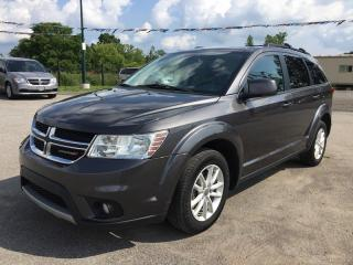 Used 2015 Dodge JOURNEY SXT * NAV * BACKUP CAM * DVD * HEATED SEATS * MOONROOF * REAR AC * 7 PASS for sale in London, ON