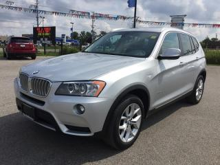 Used 2014 BMW X3 Xdrive 28I * AWD * Leather * Rear CAM * Pano Sunroof * Heated Seats for sale in London, ON
