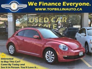 Used 2013 Volkswagen Beetle 2.0 TDI Highline, Sky Roof, 6 Speed Manual for sale in Vaughan, ON