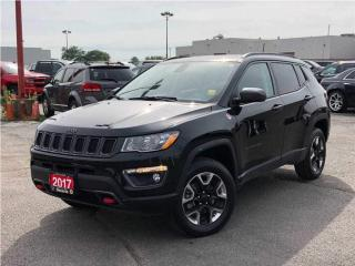 Used 2017 Jeep Compass Trailhawk**Navigation**Sunroof**Bluetooth** for sale in Mississauga, ON