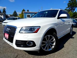 Used 2016 Audi Q5 3.0T Progressiv Navi Pano Fully Loaded Certified for sale in Guelph, ON