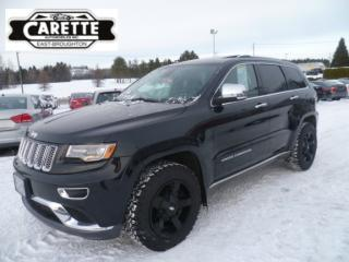 Used 2014 Jeep Grand Cherokee Summit sport 4x4 cuir-toit-gps for sale in East broughton, QC
