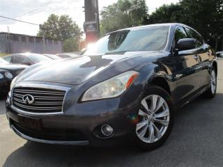 Used 2011 Infiniti M37x AWD~SUNROOF~156KMS~BACK UP CAM !! for sale in Burlington, ON