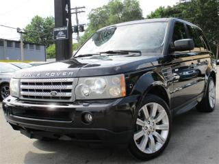 Used 2008 Land Rover Range Rover Sport SUPERCHARGED~NAVI~128KMS~LEATHER~SUNROOF!! for sale in Burlington, ON