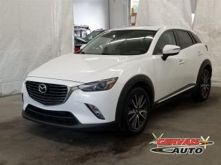Used 2016 Mazda CX-3 Gt Awd Navigation for sale in Trois-Rivières, QC