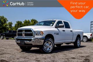 New 2018 RAM 2500 New Truck SXT|Diesel|Backup Cam|Bluetooth|Snow Chief Group|Trailer Tow Mirror| for sale in Bolton, ON