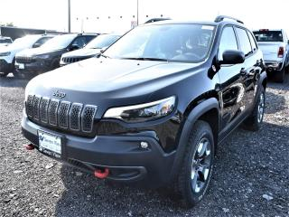 New 2019 Jeep Cherokee Trailhawk Elite|4X4|SUNROOF|NAV|HEATED FRONT SEAT for sale in Concord, ON
