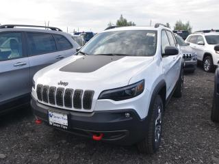 New 2019 Jeep Cherokee Trailhawk Elite|4X4|NAV|BLUETOOTH|GOOGLE ANDROID for sale in Concord, ON