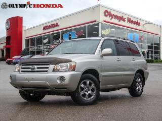 Used 2005 Toyota Highlander LIMITED  for sale in Guelph, ON