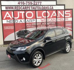 Used 2015 Toyota RAV4 Limited LIMITED-0% DOWN ALL CREDIT ACCEPTED for sale in Scarborough, ON