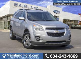 Used 2013 Chevrolet Equinox LTZ *LOCALLY DRIVEN* for sale in Surrey, BC