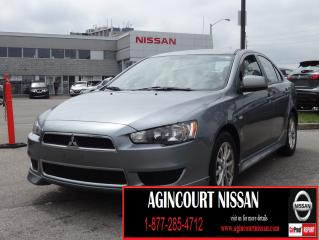 Used 2013 Mitsubishi Lancer |BLUETOOTH|CRUISE CONTROL| ALLOY WHEELS| for sale in Scarborough, ON