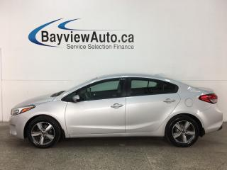 Used 2018 Kia Forte LX - ALLOYS! HTD SEATS! A/C! REVERSE CAM! BLUETOOTH! for sale in Belleville, ON