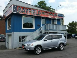Used 2012 Mitsubishi Outlander GT V6 AWD 7 Passenger **Leather/Sunroof/Bluetooth** for sale in Barrie, ON