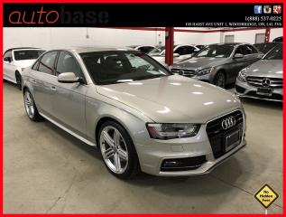 Used 2015 Audi A4 S-LINE SPORT PROGRESSIV PLUS for sale in Vaughan, ON