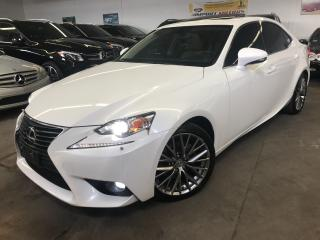 Used 2015 Lexus IS 250 PREMIUM, MINT CONDITION, CLEAN CARPROOF for sale in North York, ON