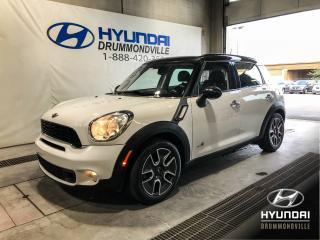 Used 2012 MINI Cooper Countryman S ALL4 + TOIT + CUIR + MAGS + WOW ! for sale in Drummondville, QC