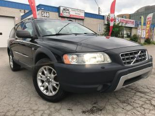 Used 2006 Volvo XC70 2.5T_LEATHER_SUNROOF_ACCIDENT FREE for sale in Oakville, ON