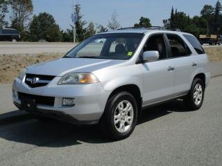 Used 2004 Acura MDX w/Tech Pkg for sale in Surrey, BC