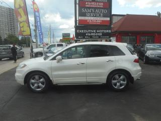 Used 2008 Acura RDX TECH PKG / NAV/ ALLOYS / ALL WHEEL / TURBO / MINT for sale in Scarborough, ON