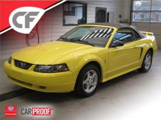 Used 2003 Ford Mustang CONVERTIBLE V6 for sale in Lévis, QC