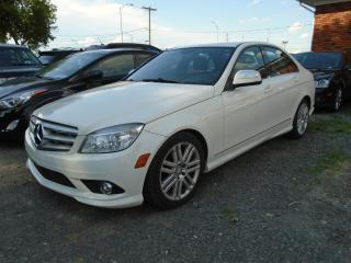 Used 2009 Mercedes-Benz C-Class Berline 4 portes 3.0L, traction arrière for sale in Mirabel, QC