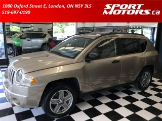 Used 2009 Jeep Compass Limited+Heated Leather+Sunroof+New Tires & Brakes for sale in London, ON