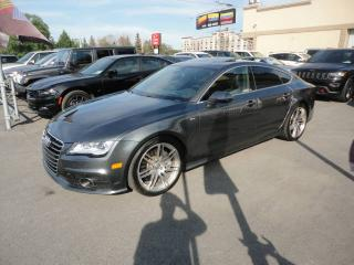 Used 2014 Audi A7 Quattro-S Line-Cuir-Toit-Navi a vendre for sale in Laval, QC