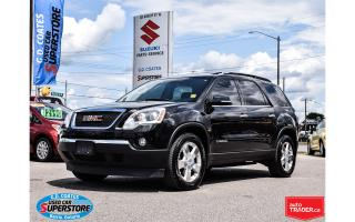 Used 2008 GMC Acadia SLT2 AWD ~Nav ~DVD ~Backup Cam ~Leather for sale in Barrie, ON