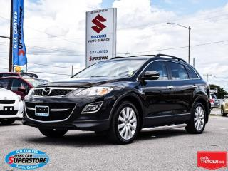 Used 2010 Mazda CX-9 GT AWD ~7 Passenger ~Nav ~DVD ~Leather for sale in Barrie, ON