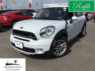 Used 2016 MINI Cooper Countryman S-4wd-push start-sunroof for sale in North York, ON