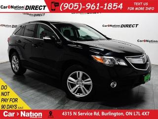 Used 2015 Acura RDX w/Technology Package| AWD| SUNROOF| NAVI| for sale in Burlington, ON