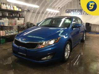 Used 2013 Kia Optima LX*GDI*PANORAMIC ROOF*PHONE CONNECT/HANDS FREE VOICE COMAND*FRONT HEATED SEATS*KEYLESS ENTRY*ECO MODE*AUTO HEADLIGHTS/FOG LIGHTS*FM/AM/USB/CD/AUX/IPOD for sale in Cambridge, ON