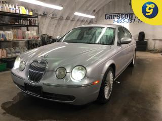 Used 2005 Jaguar S-Type VDP Edition*4.2L**********AS IS SALE**LEATHER*NAVIGATION*TOUCH SCREEN*DRIVER MEMORY SEATING*FRONT AND REAR PARKING SENSORS*SUNROOF*FRONT HEATED SEATS* for sale in Cambridge, ON