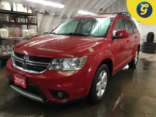 Used 2012 Dodge Journey SXT*7 PASSENGER*SUNROOF*UCONNECT TOUCH SCREEN/PHONE CONNECT/VOICE COMMAND*AUTO HEADLIGHTS/FOG LIGHTS*PASSIVE ENTRY/KEYLESS/REMOTE START* for sale in Cambridge, ON