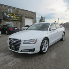 Used 2012 Audi A8 4.2 Premium AWD, MASSAGE SEATS, LEATHER, SUNROOF, NAVIGATION, for sale in Newmarket, ON