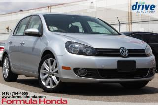 Used 2013 Volkswagen Golf 2.5L Highline Bluetooth|Leather Upholstery|Sunroof for sale in Scarborough, ON