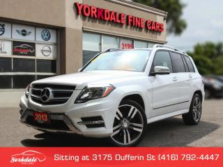 Used 2013 Mercedes-Benz GLK-Class 350 4Matic. Navigation. Panoramic. Low Klm for sale in Toronto, ON