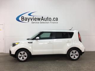 Used 2018 Kia Soul LX - BLUETOOTH! A/C! KEYLESS ENTRY! PWR GROUP! for sale in Belleville, ON