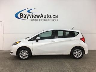 Used 2018 Nissan Versa Note 1.6 SV - HTD SEATS! A/C! CRUISE! BLUETOOTH! PWR GROUP! for sale in Belleville, ON