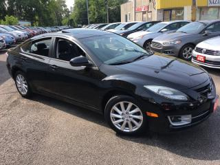 Used 2011 Mazda MAZDA6 GT/ LEATHER/ SUNROOF/ ALLOYS/ FULLY LOADED! for sale in Scarborough, ON