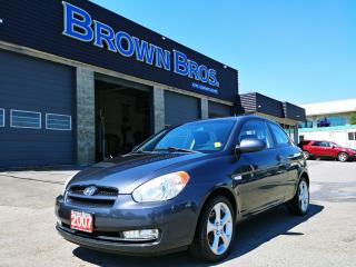 Used 2007 Hyundai Accent GS, LOCAL, ACCIDENT FREE for sale in Surrey, BC