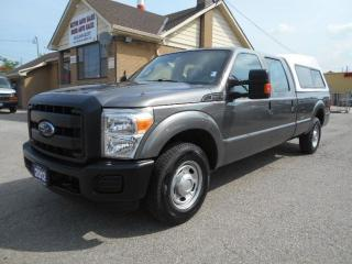 Used 2012 Ford F-250 XL Crew Cab 8Ft Box Heavy Duty 3/4Ton ONLY 34,000K for sale in Etobicoke, ON