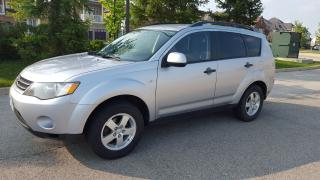 Used 2007 Mitsubishi Outlander LS for sale in Etobicoke, ON