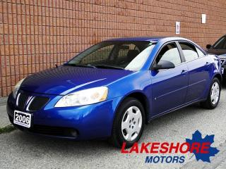 Used 2006 Pontiac G6 CERTIFIED | AUTO for sale in Waterloo, ON