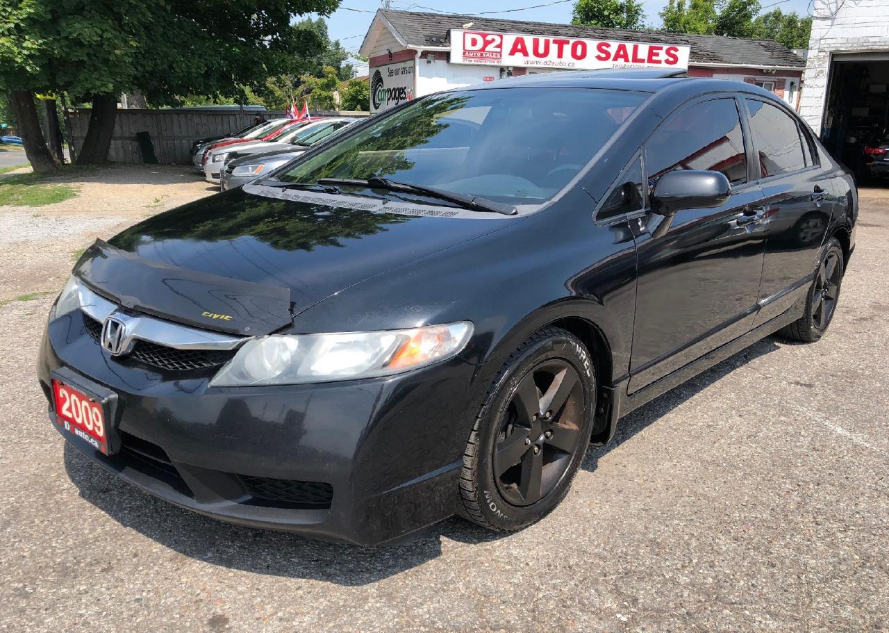 2009 Honda Civic Sport/Manual Transmission/Gas Saver/Certified