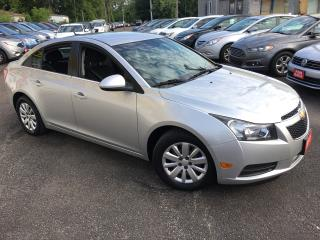 Used 2011 Chevrolet Cruze LT/ AUTO/ POWER GROUP/ LOADED for sale in Scarborough, ON
