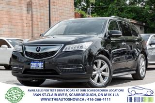 Used 2014 Acura MDX Elite SH-AWD NAVI RearCAM Cooled Leather Seats DVD for sale in Toronto, ON
