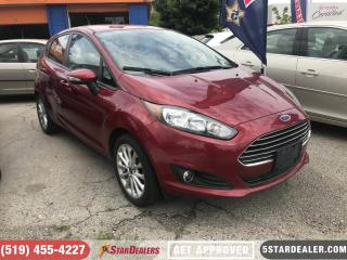 Used 2014 Ford Fiesta SE | BIG SCREEN | BLUETOOTH for sale in London, ON