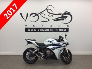 Used 2017 Honda CBR500RA - No Payments For 1 Year** for sale in Concord, ON